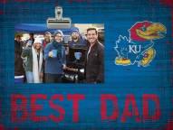 Kansas Jayhawks Best Dad Clip Frame