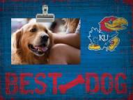 Kansas Jayhawks Best Dog Clip Frame