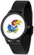 Kansas Jayhawks Black Mesh Statement Watch