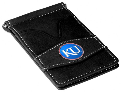 Kansas Jayhawks Black Player's Wallet