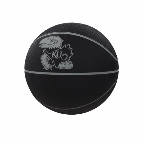 Kansas Jayhawks Blackout Full-Size Composite Basketball
