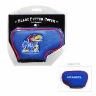 Kansas Jayhawks Blade Putter Headcover