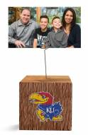 Kansas Jayhawks Block Spiral Photo Holder