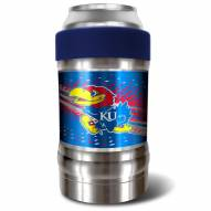 Kansas Jayhawks Blue 12 oz. Locker Vacuum Insulated Can Holder