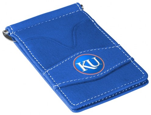 Kansas Jayhawks Blue Player's Wallet