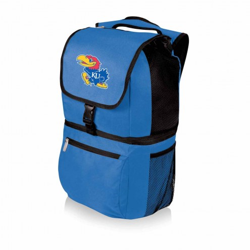 Kansas Jayhawks Blue Zuma Cooler Backpack