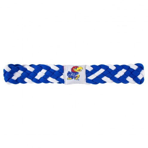 Kansas Jayhawks Braided Head Band