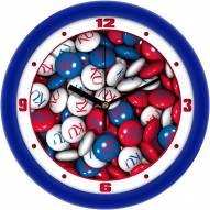 Kansas Jayhawks Candy Wall Clock