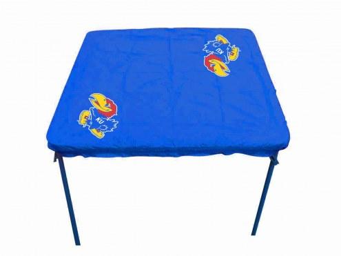 Kansas Jayhawks Card Table Cover
