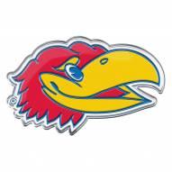 Kansas Jayhawks Color Car Emblem