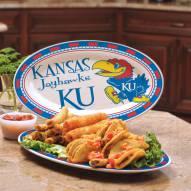 Kansas Jayhawks Ceramic Serving Platter