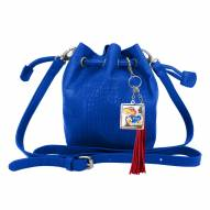 Kansas Jayhawks Charming Mini Bucket Bag