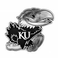 Kansas Jayhawks Chrome Car Emblem