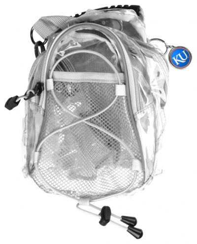 Kansas Jayhawks Clear Event Day Pack