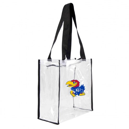 Kansas Jayhawks Clear Square Stadium Tote