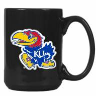 Kansas Jayhawks College 2-Piece Ceramic Coffee Mug Set