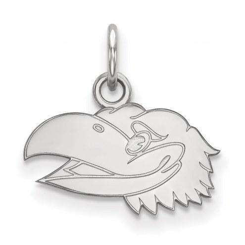 Kansas Jayhawks Sterling Silver Extra Small Pendant