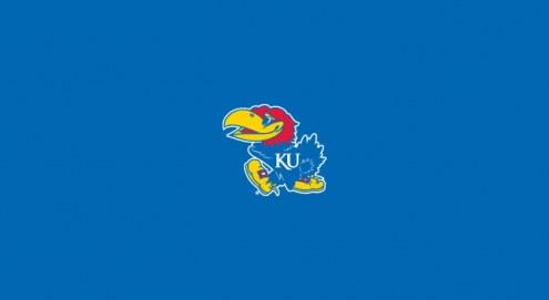 Kansas Jayhawks College Team Logo Billiard Cloth