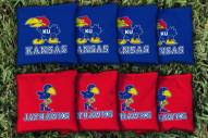 Kansas Jayhawks College Vault Cornhole Bag Set