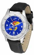 Kansas Jayhawks Competitor AnoChrome Men's Watch