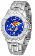 Kansas Jayhawks Competitor Steel AnoChrome Men's Watch