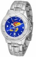 Kansas Jayhawks Competitor Steel AnoChrome Men's Watch