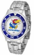 Kansas Jayhawks Competitor Steel Men's Watch