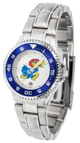 Kansas Jayhawks Competitor Steel Women's Watch