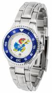 Kansas Jayhawks Competitor Steel Women's Watch