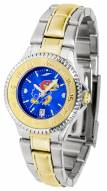 Kansas Jayhawks Competitor Two-Tone AnoChrome Women's Watch