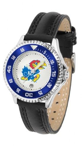 Kansas Jayhawks Competitor Women's Watch