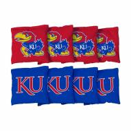 Kansas Jayhawks Cornhole Bag Set
