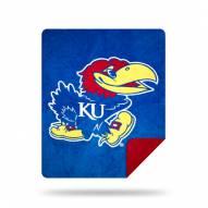 Kansas Jayhawks Denali Sliver Knit Throw Blanket