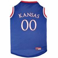 Kansas Jayhawks Dog Basketball Jersey