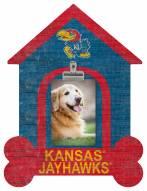 Kansas Jayhawks Dog Bone House Clip Frame