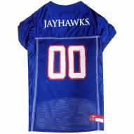 Kansas Jayhawks Dog Football Jersey