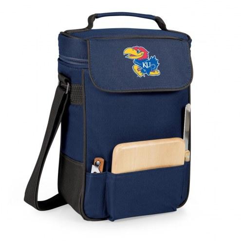 Kansas Jayhawks Duet Insulated Wine Bag