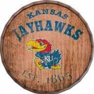 "Kansas Jayhawks Established Date 24"" Barrel Top"