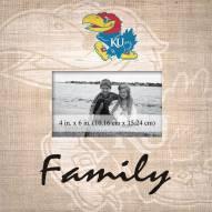 Kansas Jayhawks Family Picture Frame