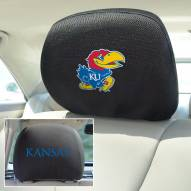 Kansas Jayhawks Headrest Covers