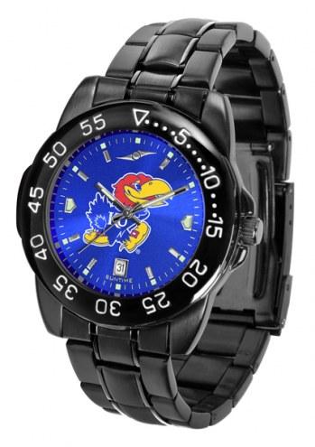Kansas Jayhawks Fantom Sport AnoChrome Men's Watch