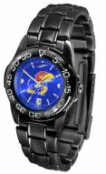 Kansas Jayhawks Fantom Sport AnoChrome Women's Watch