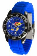 Kansas Jayhawks Fantom Sport Silicone Men's Watch
