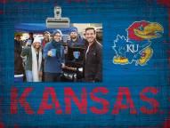 Kansas Jayhawks Wood Clip Frame