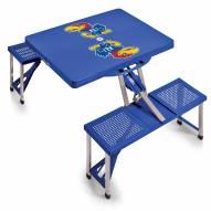 Kansas Jayhawks Folding Picnic Table