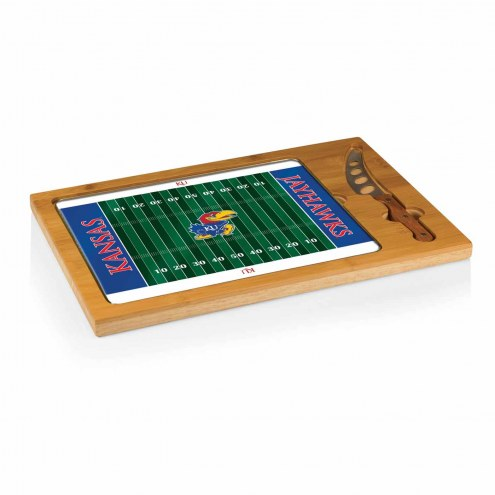 Kansas Jayhawks Football Icon Cutting Board