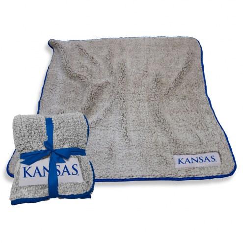 Kansas Jayhawks Frosty Fleece Blanket