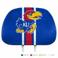 Kansas Jayhawks Full Print Headrest Covers