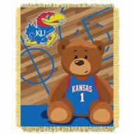 Kansas Jayhawks Fullback Baby Blanket