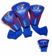 Kansas Jayhawks Golf Headcovers - 3 Pack